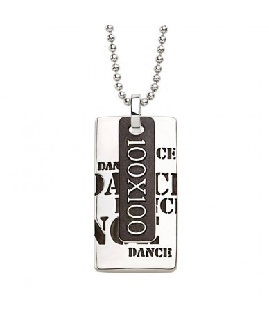 DANCE pendant with chain
