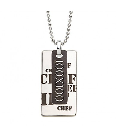CHEF pendant with chain