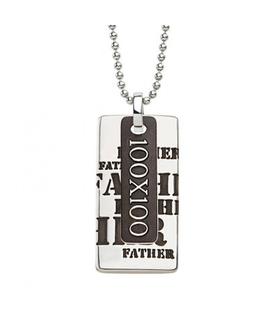 FATHER pendant with chain