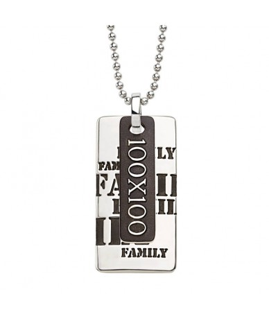 FAMILY pendant with chain