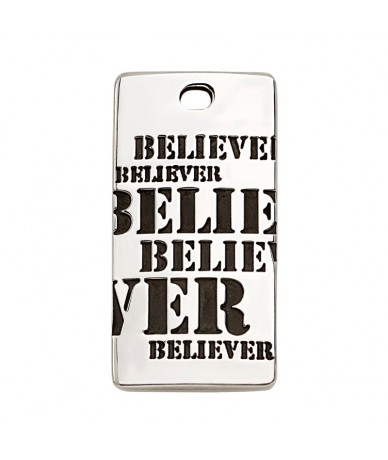 BELIEVER pendant